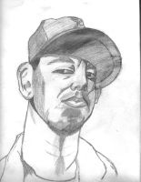 Mike Shinoda of Linkin Park by duelistshdow123