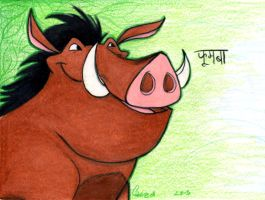 Pumbaa by harrimaniac27