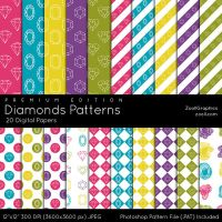 Diamonds Patterns - Premium Edition by MysticEmma