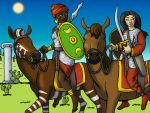 Roman Auxiliary Cavalry by DaBrandonSphere
