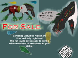 Sveka the Disturbed Nightmare--SOLD by patchesofheaven74