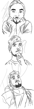 .More Real Jacksepticeye. by AlexandraTale