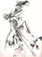 Skeleton Pirate by ARTOON