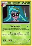 Gaia everfree custom PKM card by pokekid333