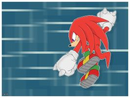 Knuckles by JacobMainland