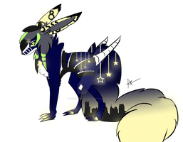 Stary Night Auction CLOSED by HazeAdopts
