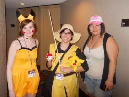 pikachu, yellow, and white by raze36
