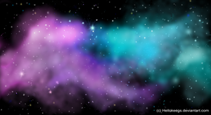 Galaxy Wallpaper by HelloKeegs