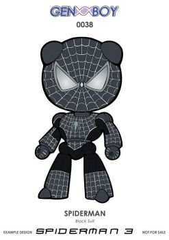 GB0038 - SPIDERMAN Black suit by GERCROW