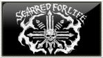 SCARRED FOR LIFE STAMP by HORNEDQUAD