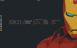 Iron Man Desktop. by speedracker