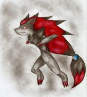 Zoroark again XD by Nid15