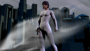 Ghost in the Shell by spiresrich