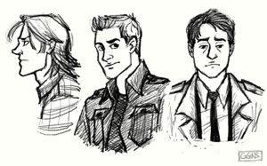 Team Free Will doodle by ggns