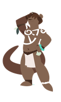 Otter by froopoo