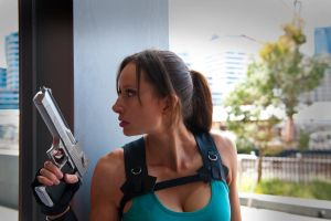 Lara Croft - ready for action by ShonaAdventures