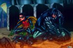 Batman and Robin color by fig