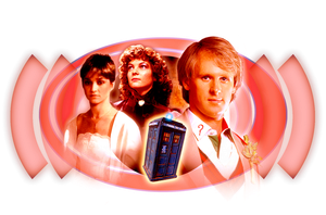 The TARDIS Crew 1983 by Cotterill23