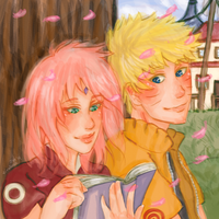 NaruSaku - Lovely Reader by Kirabook