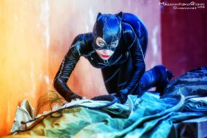 Catwoman (Batman Returns) ..meow by TiddeInDisguise