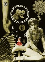 Mata Hari  collage collab by crazyruthie
