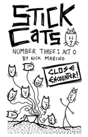Stick Cats Act 0 cover by nickmarino