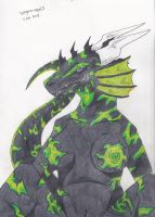 attractive poison  colored version by dragon-man13