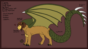 Character Reference: Cierra by fox-song