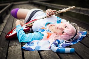 Sweet super Sonico ~ the Animation Cosplay by K-I-M-I