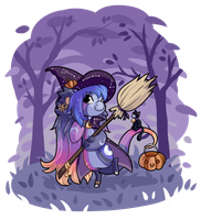 Prompt - Halloween Costume by Momoless