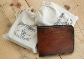 Blackthorn Bi-Fold by Blackthornleather