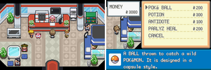 (Hack rom GBA)Pokemon Zero (pokecenter) by Zeo254