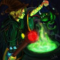 The Sorcerer's Apprentice by RobbieDGrimm