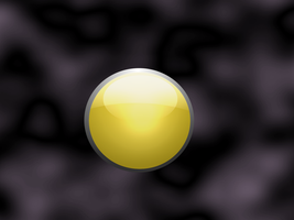 Free Use Yellow Button by ReeseS8