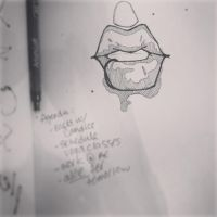 lips by thepolishyogi