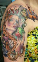 Princess half sleeve by Phedre1985