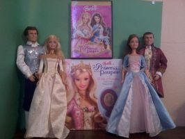 Barbie as the Princess and the Pauper Collection by sailormoonhp4life