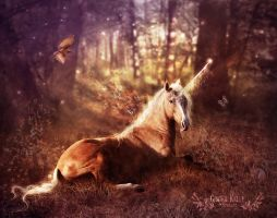 Ancients: The Unicorn by GingerKellyStudio