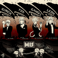 The Mi5 Boys by M-e-z