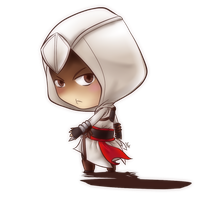 [Fan-art] Assassin's creed: Altair [CHIBI] by aude-javel
