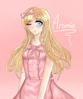 Request: Cutesight: Aromie OC by serpchi