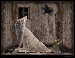 only with crows..... by morganablackmoon