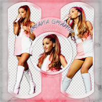 Photopack PNG / Ariana Grande / 19 by PamHoran