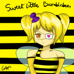 Sweet Little Bumblebee by Balrogipuwet