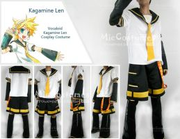 Vocaloid Kagamine Len Cosplay by miccostumes