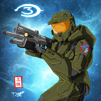 Halo Masterchief Major 117 by SnaKou