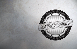 SUPER MEGA Badge by APgraph