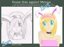 Before and After Bunny by Zanture-Angel