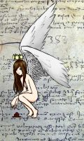 Flyleaf Angel Colored 2 by LuCkYrAiNdRoP