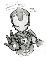 Iron Man ! by willymerry